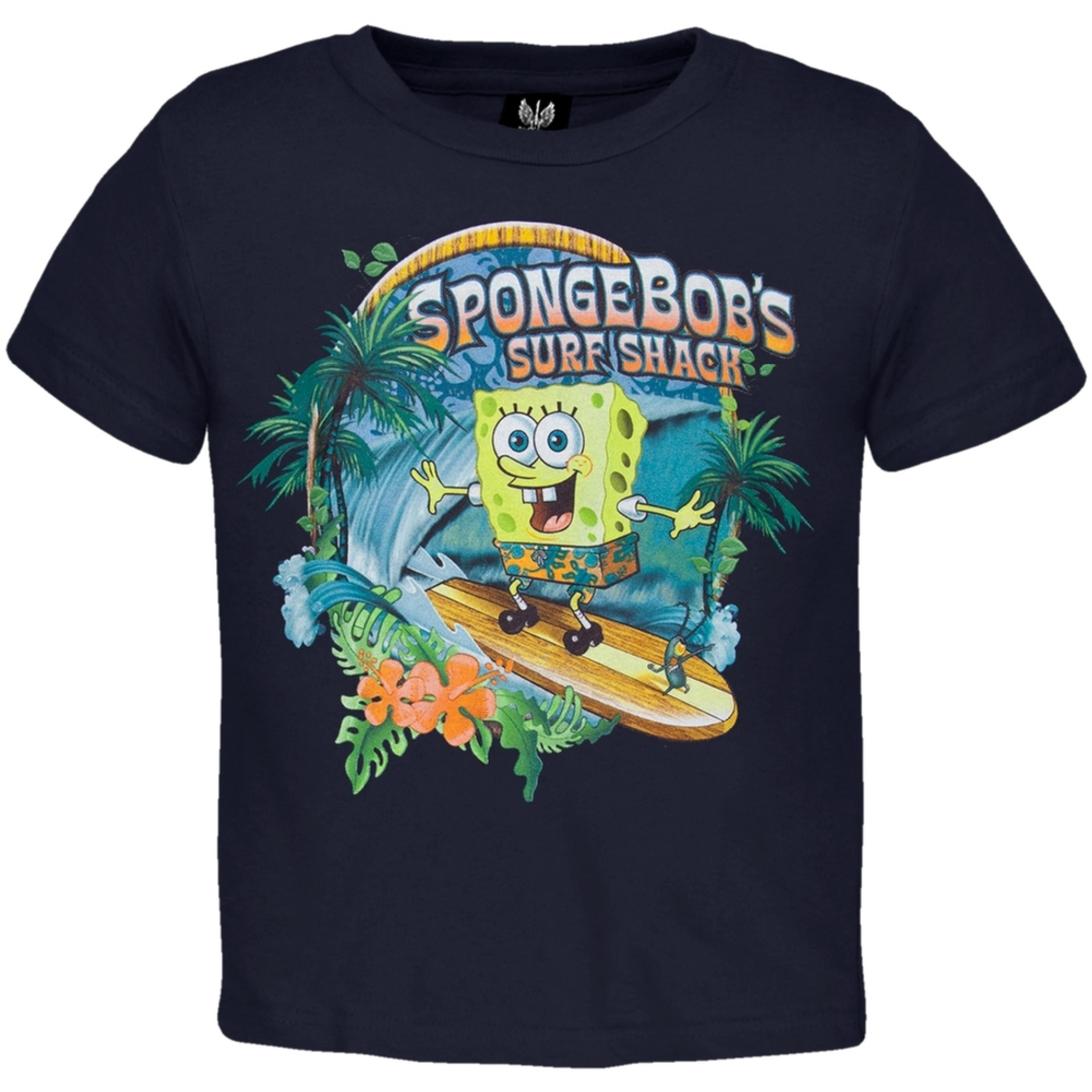 Spongebob Squarepants - Good Time Navy Juvy T-Shirt