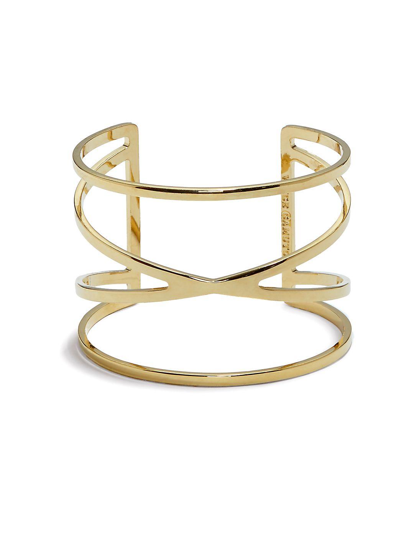 Front Crisscross Cuff Bracelet