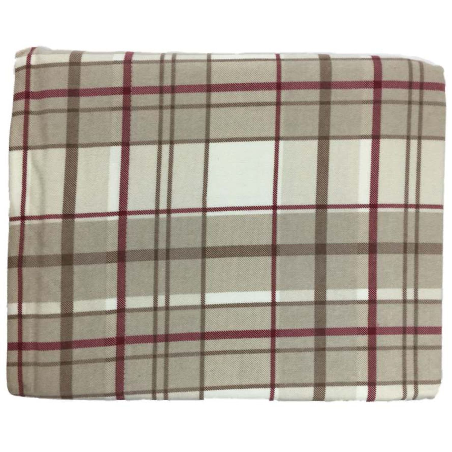 Cuddle Duds Flannel Sheet Set Red Khaki Plaid Full Bed Sheets Bedding Walmart Com Walmart Com