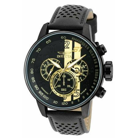 Invicta Men's 19289 S1 Rally Quartz Multifunction Black Dial Watch