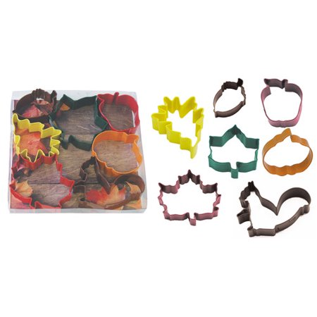 (R & M International Corp. Autumn Leaf 7 Piece Cookie Cutter Set)