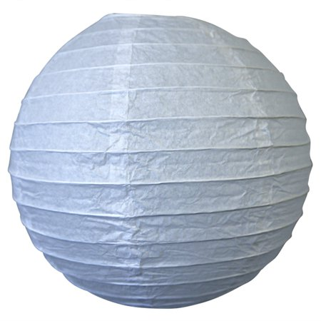 Asian Import Store Distribution 10 in. White Round Paper - Sky Lanterns In Store