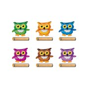 bright owl class accents variety pk decorations - Owl Decor