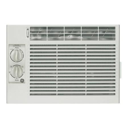 ge aer05lv 5 000 btu mechanical control window room air conditioner. Black Bedroom Furniture Sets. Home Design Ideas