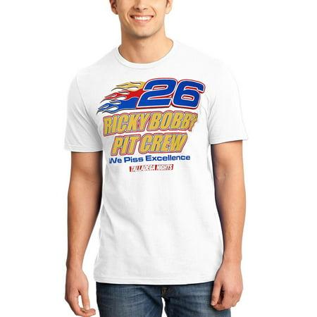 Talladega Nights Ricky Bobby Pit Crew T-Shirt (Ricky Bobby Outfit)