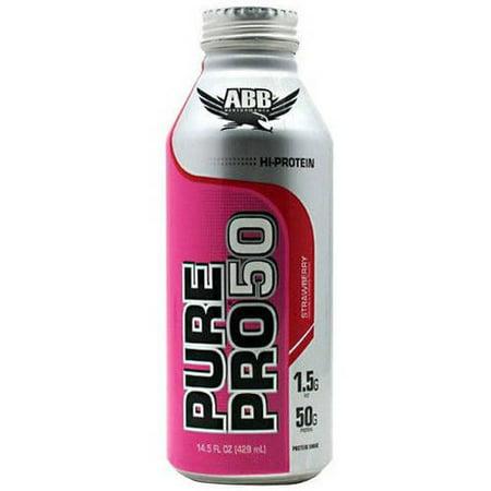 ABB Pure Pro Pro 50, Strawberry, 12 CT