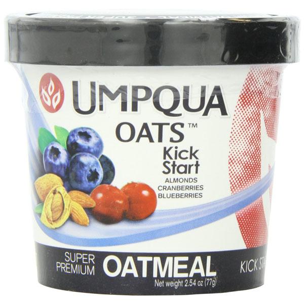 Umpqua Oats All Natural Oatmeal Kick Start 2.54 Ounce 12 Count