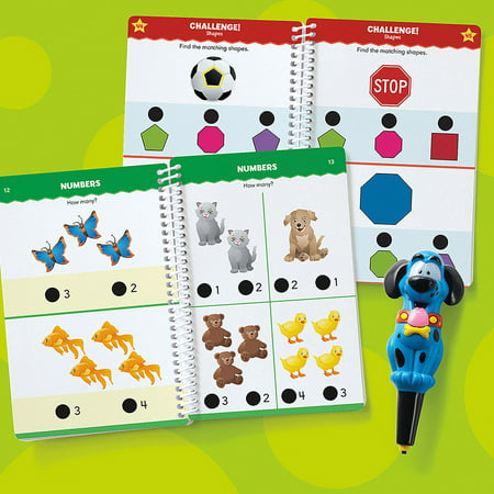Educational Insights Hot Dots Jr Lets Master Pre K Math Set With