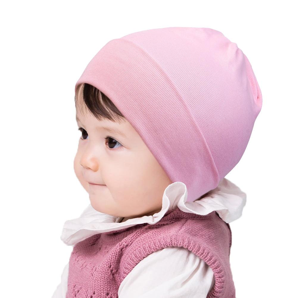 Details about  /Girls Winter Baby Hats Fashion Infant Set Baby Children Warm Plush Cotton Caps