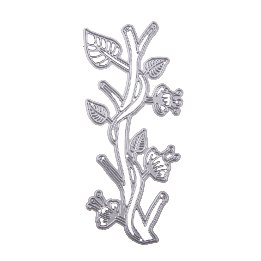 Carbon Steel Tree Branches Cutting Die Embossing Stencil Template Mold DIY Craft