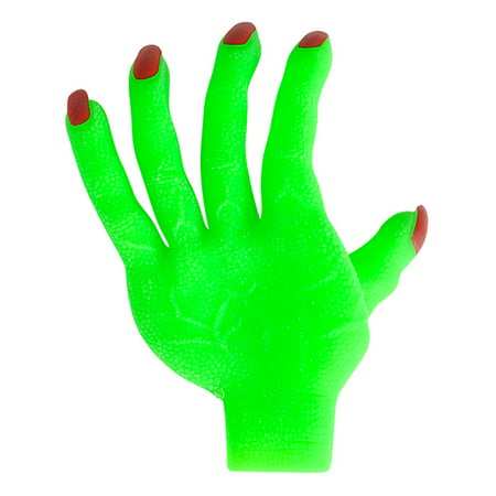 Adult's Green Zombie Glove Hand Undead Monster Halloween Costume Accessory