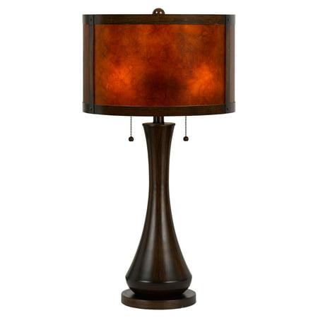 Cal Lighting BO-2187TB Viejo Mica Table Lamp ()