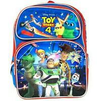 "NEW Disney Pixar Toy Story 4 16"" Canvas Blue School Backpack"