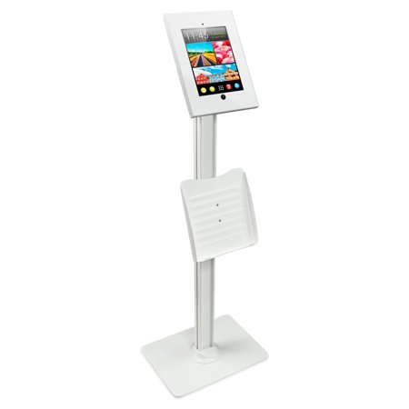 Mount-It! Tablet Stand iPad POS Kiosk Mount Floor Standing Tablet Holder