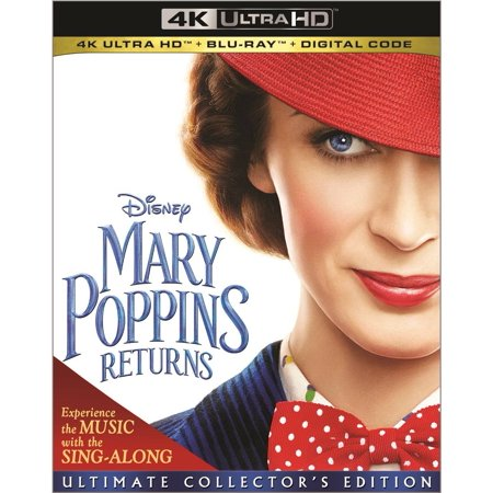 Mary Poppins Returns (4K UHD + Blu-ray + DVD)