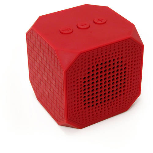 MQbix MUSICUBE Wireless Portable Bluetooth Speaker with Built - In Microphone and Rechargeable Battery