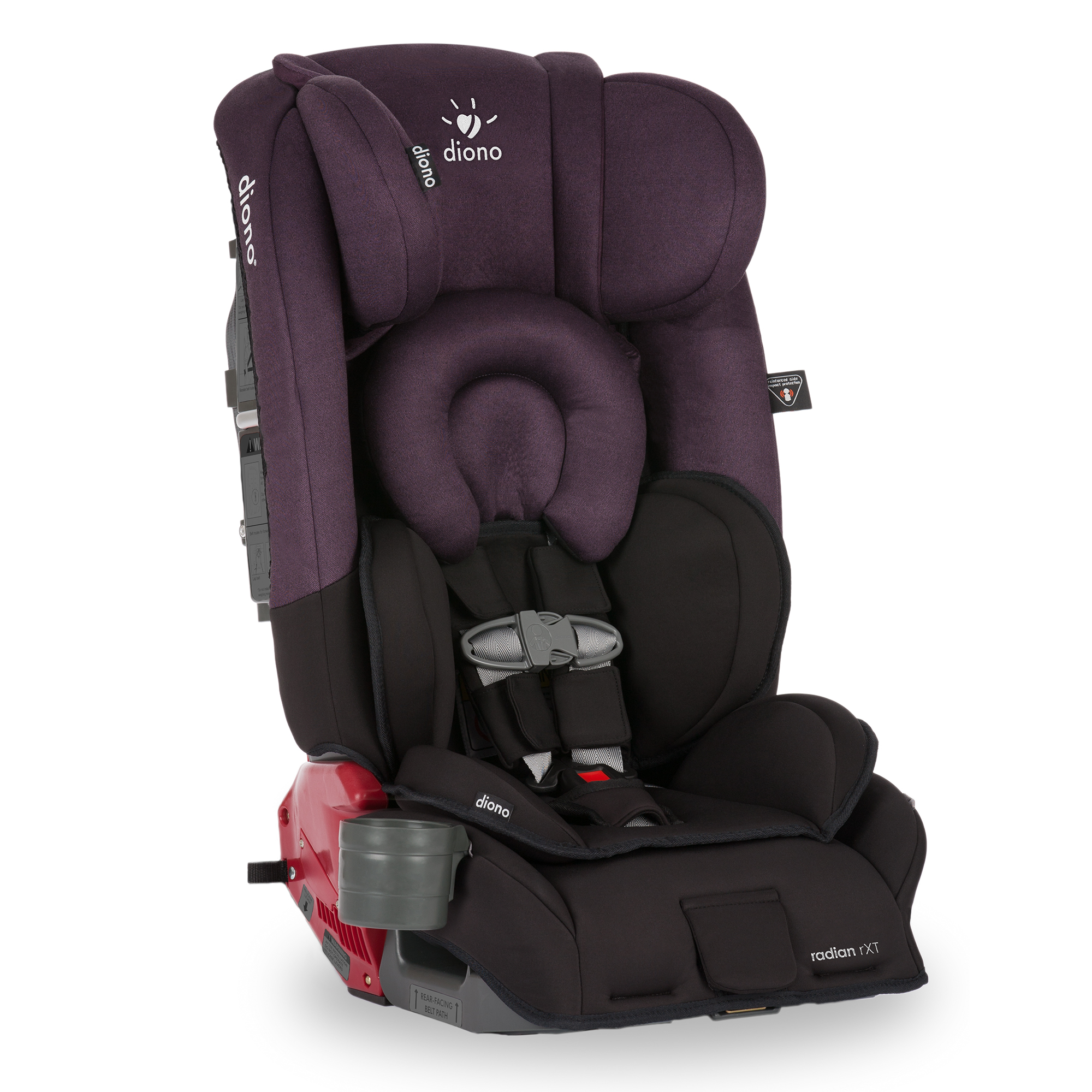 Diono Radian RXT All-in-One Car Seat, Black Mist by Diono