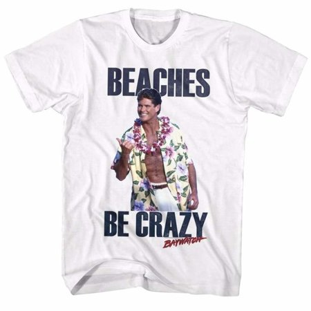 Baywatch Tv Beaches Adult Short Sleeve T Shirt