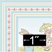 Dollhouse Rug: Bunny Parade