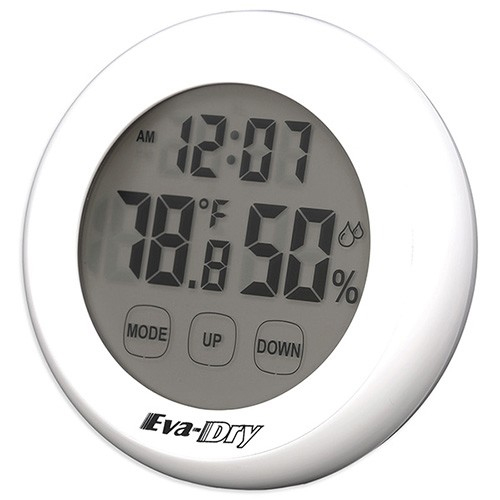Eva-Dry Indoor Humidity Monitor Hygrometer