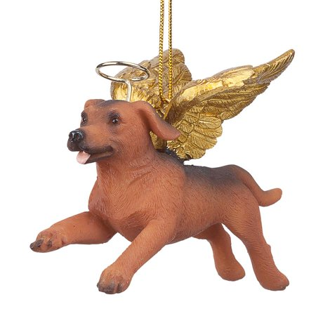 Design Toscano Honor the Pooch: Dachshund Holiday Dog Angel Ornament