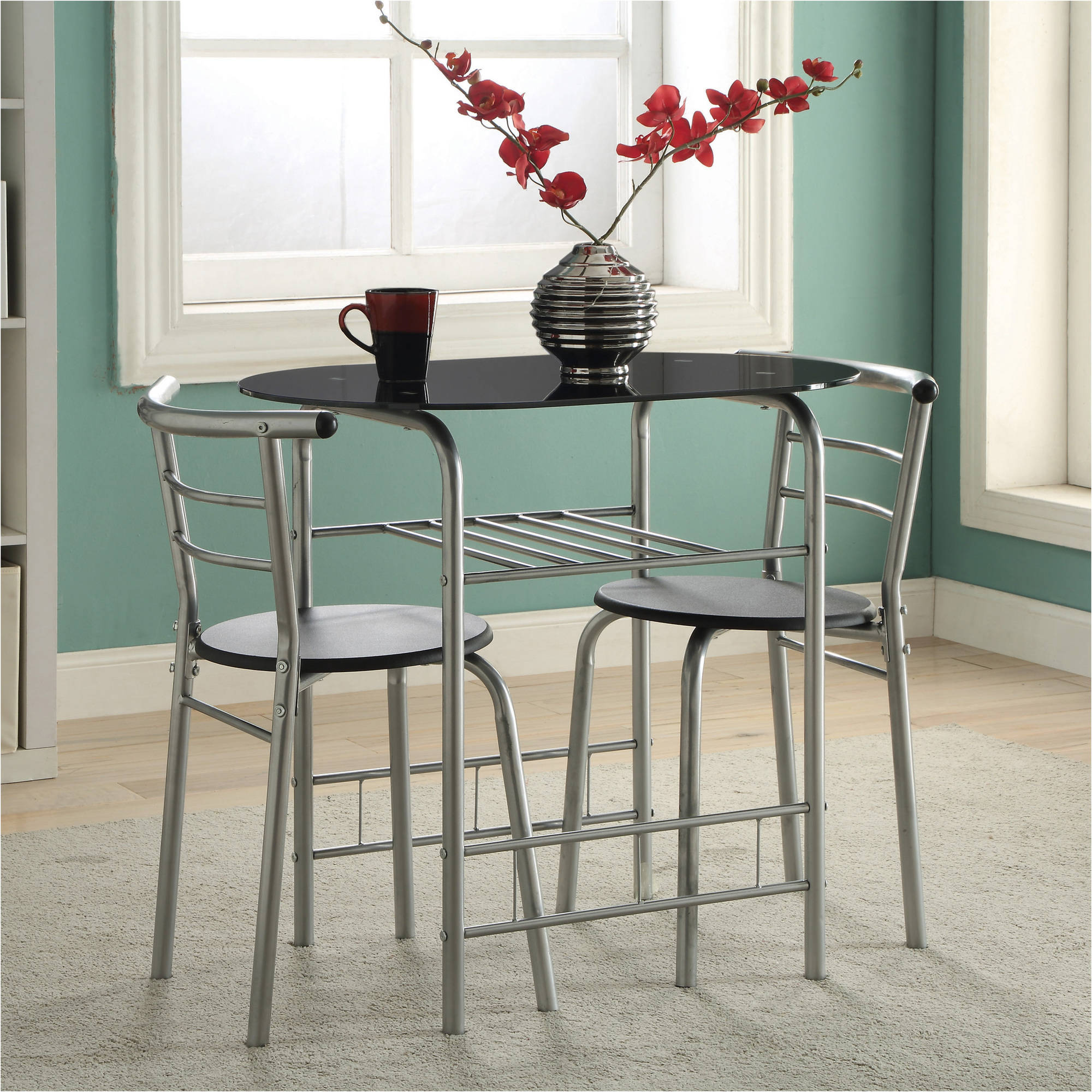 Charmant Coaster 3 Piece Dinette Set, Multiple Colors