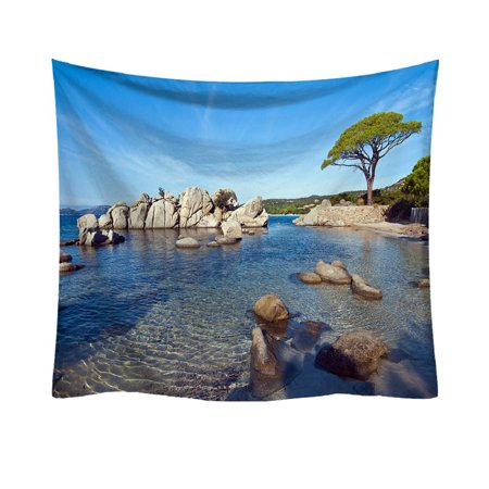 Iuhan Fashion Tapestry Ocean Pattern Fresh Style Decorative Tapestry Home Decor ()