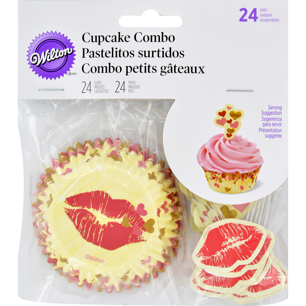 Cupcake Combo Pack-Comfort And Connect 24/Pkg