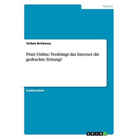 Print Online. Verdrangt Das Internet Die Gedruckte Zeitung? - image 1 de 1