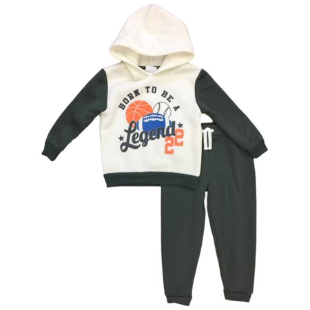 Borg Outfit (Infant & Toddler Boys Baby Outfit Born Legend Sports Hoodie & Sweat)
