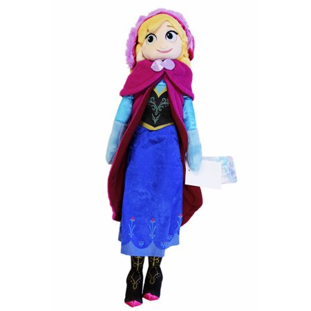 Anna Top - Disney's Frozen Anna Classic Outfit Plush Toy w/Secret Pocket (17in)