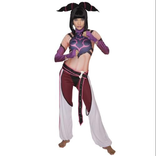 Street Fighter Juri Costume Adult Womens Large 12-14
