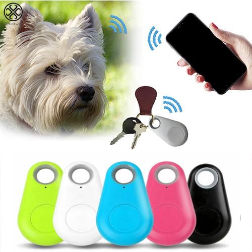 Black Anti Lost Alarm Key Pet Tracker Wireless GPS Bluetooth Smart Dog Locator