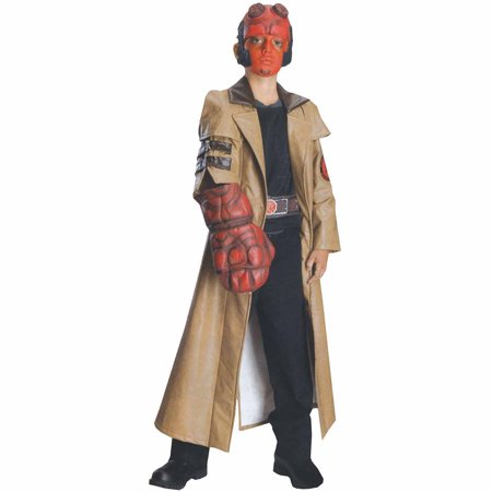 hellboy deluxe child halloween costume