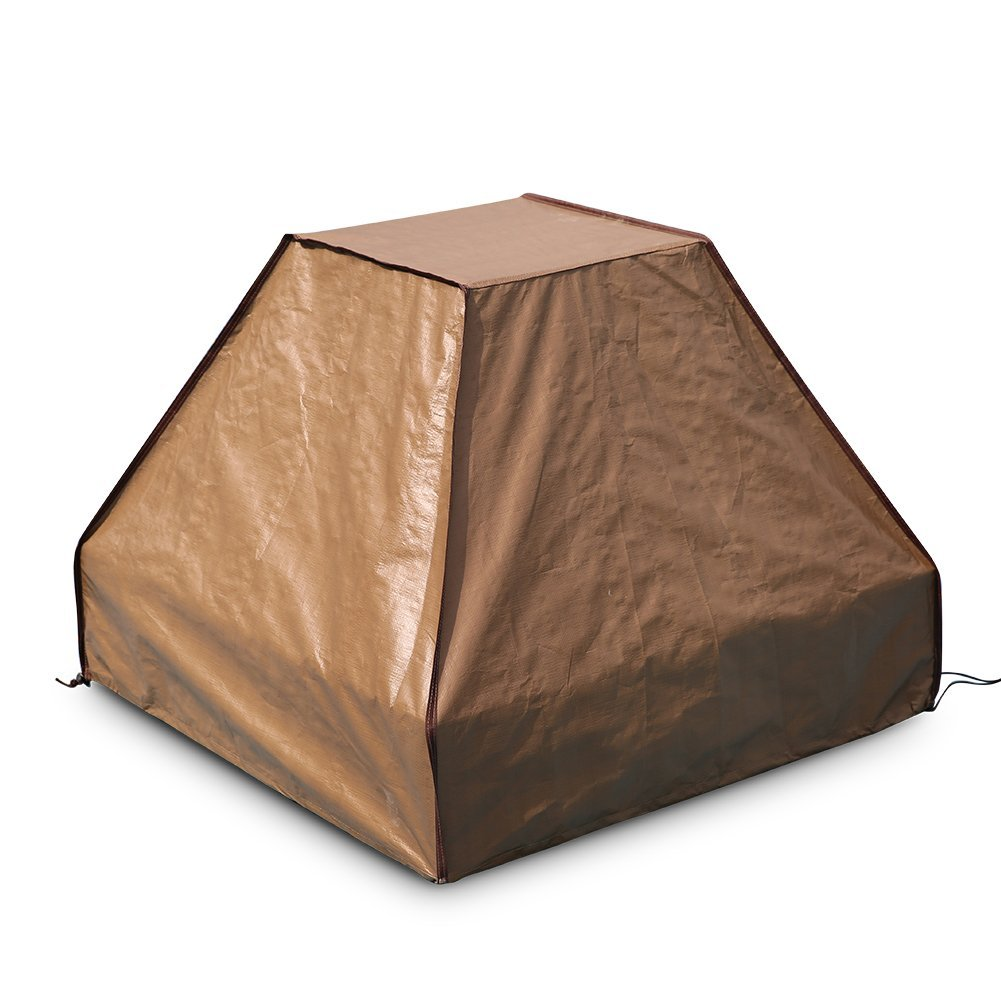 Abba Patio Grill Cover, 35-Inch BBQ Outdoor Cover Waterproof, Brown by Abba Patio