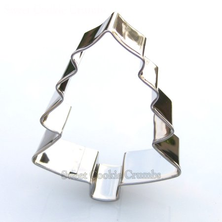 Small Christmas Tree Cookie Cutter- Stainless - Tree Cookies