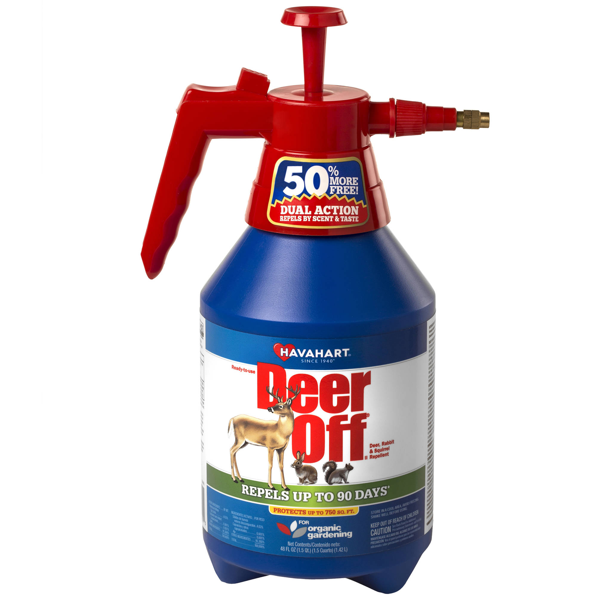 Havahart Deer Off II 48 oz. Ready-To-Use Deer, Rabbit & Squirrel Repellent