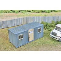 Walthers SceneMaster HO Scale Building/Structure Kit Mobile Construction Office