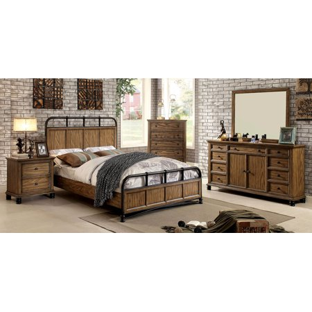 New Modern Industrial Design Bedroom Furniture 48pc Set Queen Size Interesting Modern Industrial Design Furniture