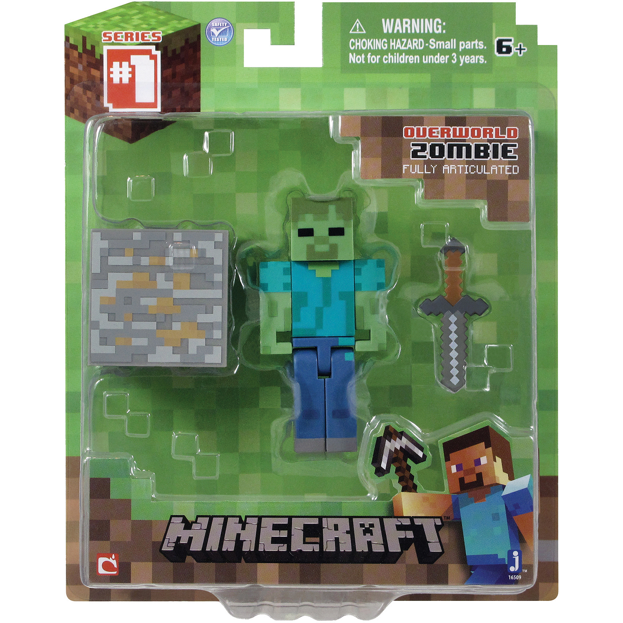 minecraft core zombie with accessories walmart