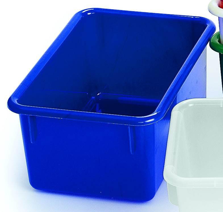Storage Cubbie Tray in Blue (Red)