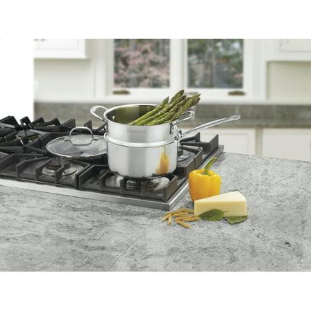 Cuisinart Stainless Steel 3-Quart Steamer 3-Piece Set