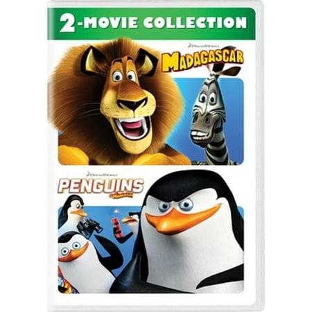 Madagascar / Penguins of Madagascar (DVD) (Penguins Of Madagascar A Visit From Uncle Nigel)