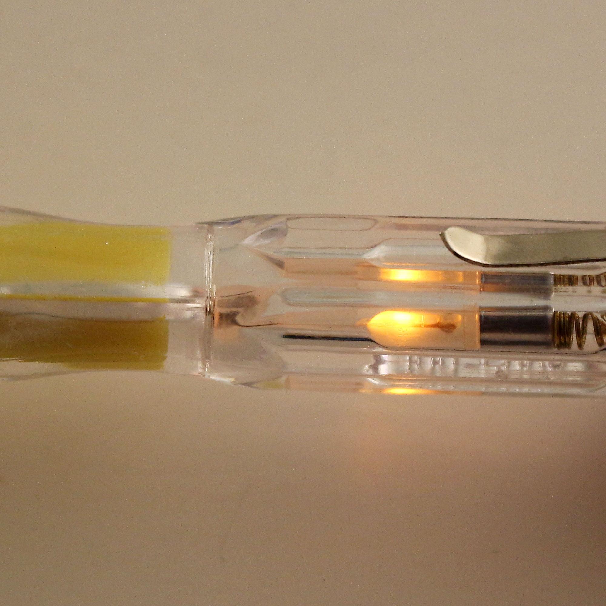 Voltage Tester, 100-500V Electrical Test Pen, 3.5mm Double Head Slot Philips Screwdriver Circuit Detector Neon Tube 5pcs - image 4 de 5