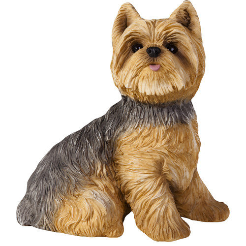 Sandicast Yorkshire Terrier Small Size Sculpture