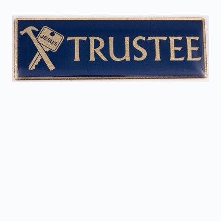Trustee Magnetic Pin Badge for Church Officers - (Special Officer Badge)