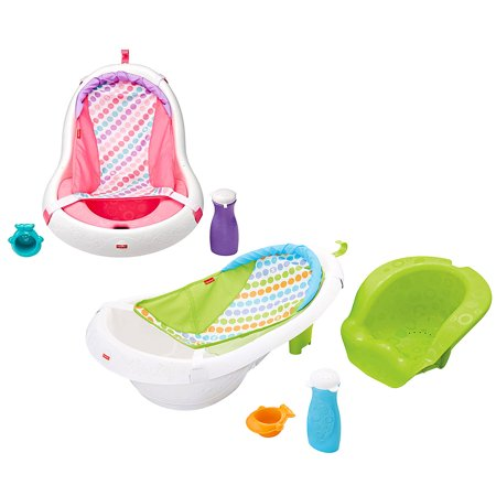 Toddler Baths Fisher Price Pink 4 In 1 Sling N Seat Tub
