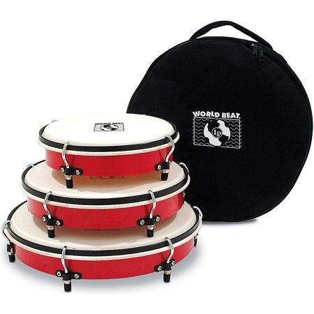 LP World Beat Plenera Drum Set with Bag ()