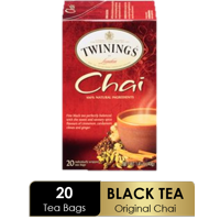 Twinings of London Chai Tea Bags , 20 Ct., 1.41 oz.