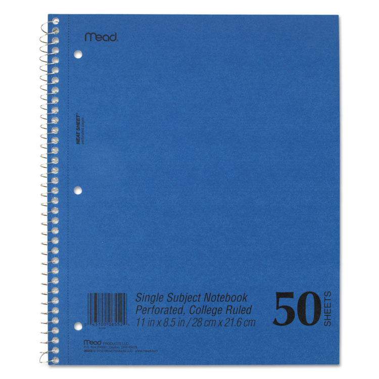 Mead Westvaco Mid Tier Notebook 06552